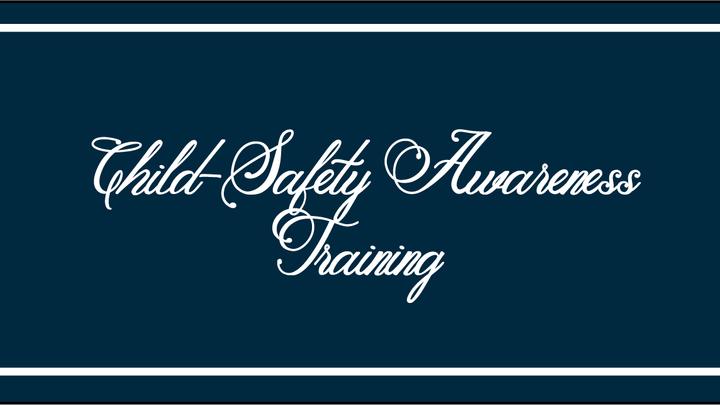 Child-Safety Awareness Training logo image