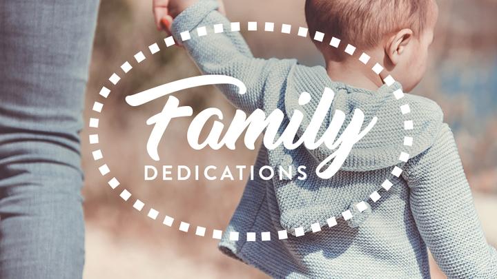 Family Dedication | October 13, 2019 logo image