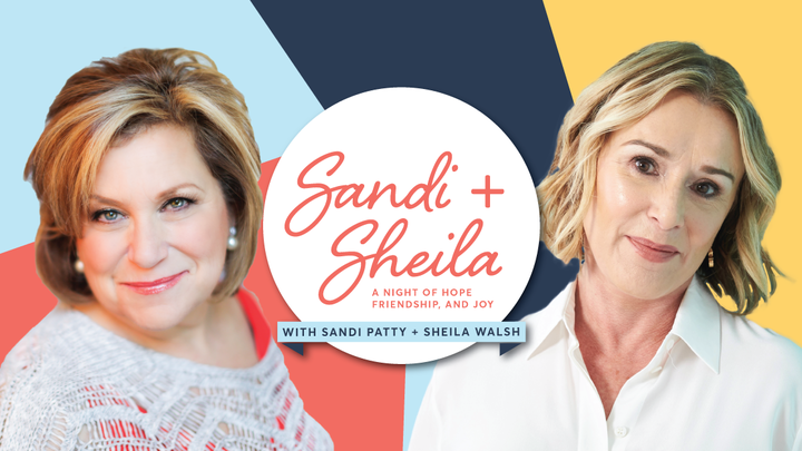 Sandi Patty & Sheila Walsh: A Night of Hope, Friendship, & Joy logo image