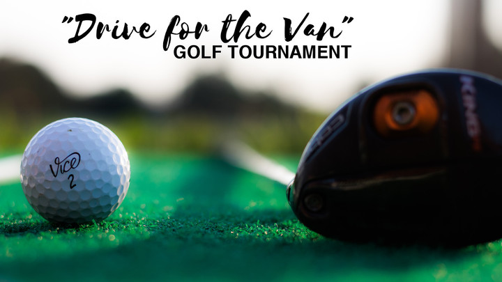 """Drive for the Van"" Golf Tournament logo image"
