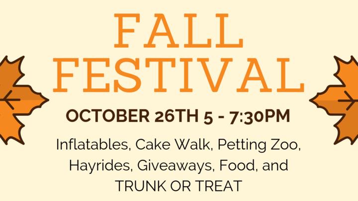 FBC Fall Festival Candy Car Registration logo image