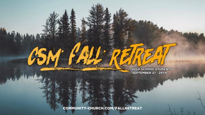 High School CSM Fall Retreat logo image