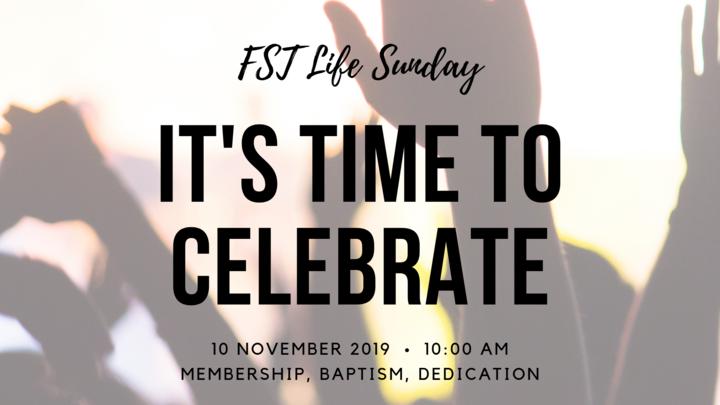 FST Life Sunday - November 2019 logo image