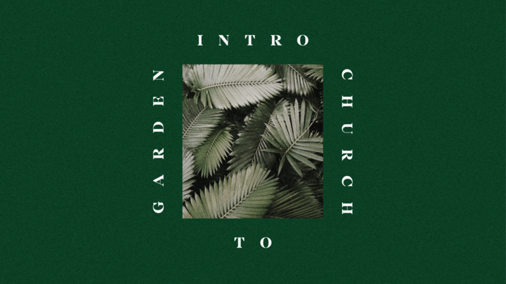 Intro to Garden Church logo image