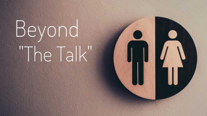 """Beyond """"The Talk"""" Confident Conversations About Sexuality in a Confused Culture logo image"""