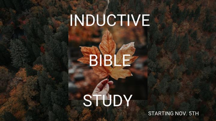 Inductive Bible Study  logo image