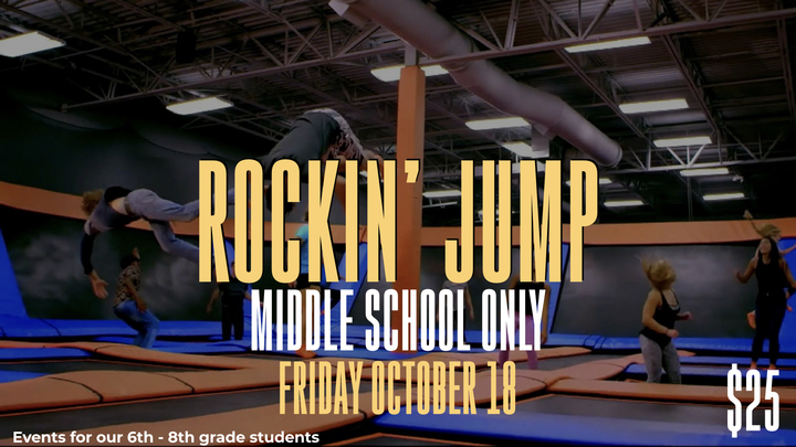 Rockin Jump - Middle School Event logo image