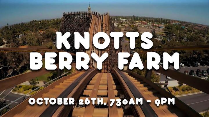 Youth Knotts Berry Farm logo image