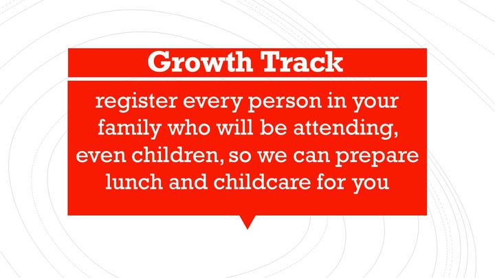 Growth Track- Sundays logo image