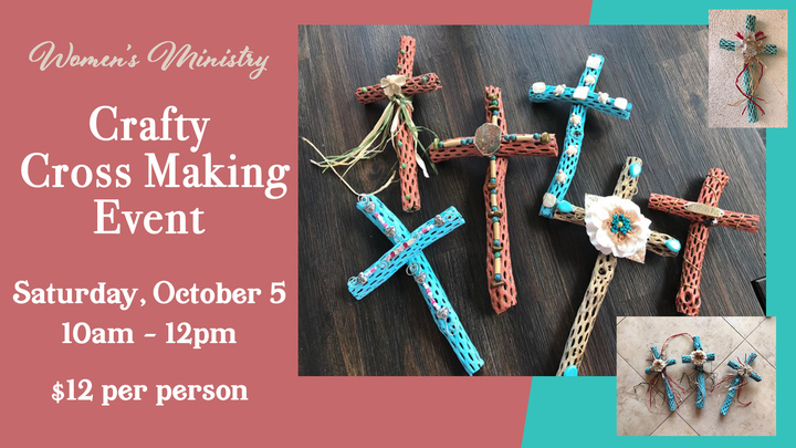 Crafty Cross Making Event logo image