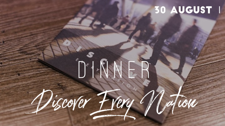 Discover Every Nation Dinner October logo image