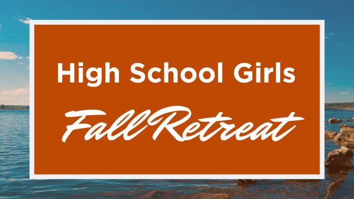 High School Girls Fall Retreat logo image