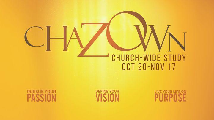 "Church-Wide Study - ""Chazown"" logo image"