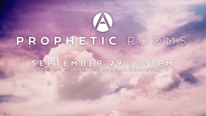 Prophetic Rooms - September 2019 logo image