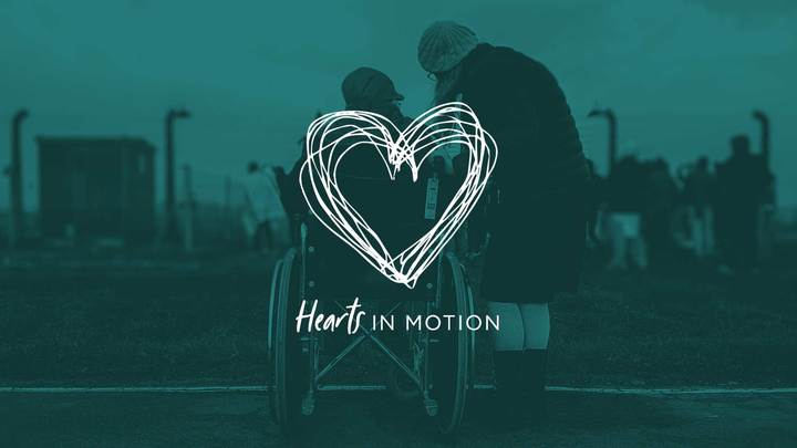 Hearts in Motion Bible Study logo image