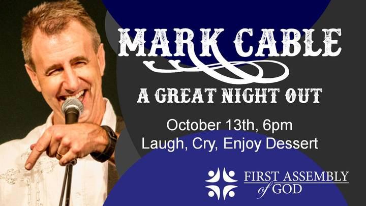 """""""A Great Night Out"""" with Mark Cable logo image"""