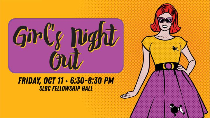 SLBC Women's Ministry - Girls Night Out logo image