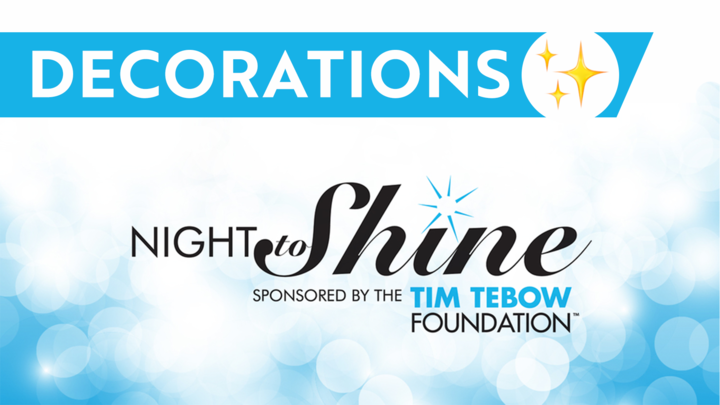 Decorations Team - Night to Shine 2020 logo image