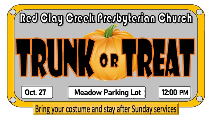 Trunk or Treat 2019:  Vehicle & Candy Sign-Up logo image