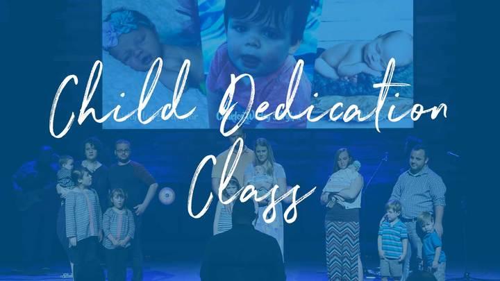Child Dedication Class   October 27 logo image