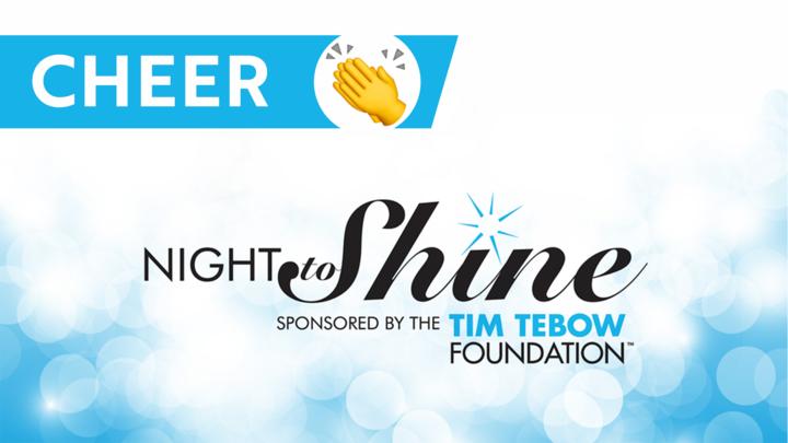 Red Carpet Cheer Team - Night to Shine 2020 logo image