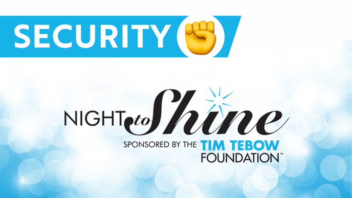 Security/Traffic/Parking Team  - Night to Shine 2020 logo image