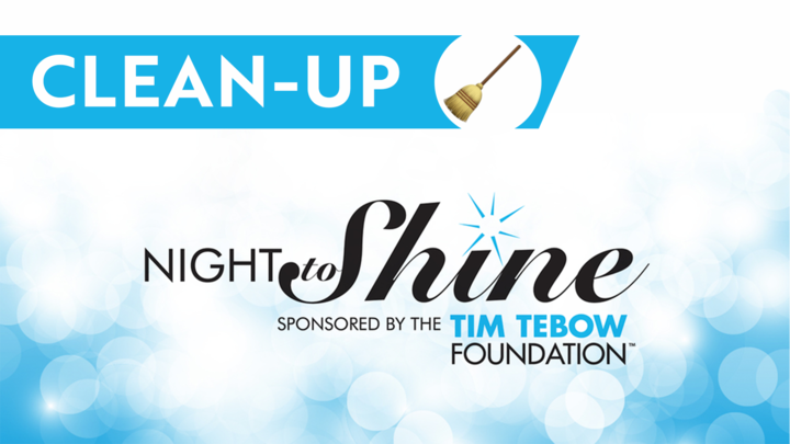 Tear Down/Clean Up Team - Night to Shine 2020 logo image