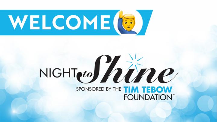 Welcome Team - Night to Shine 2020 logo image