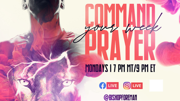 Command Your Week Prayer logo image