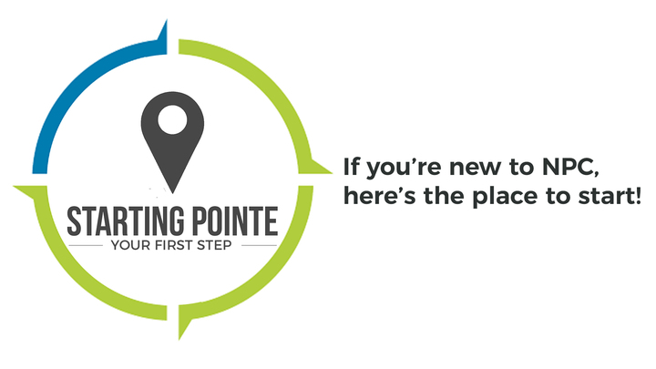 Starting Pointe - Your first step in getting connected! logo image