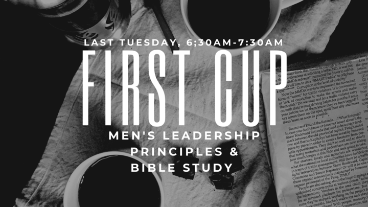 First Cup (Men's Ministry) logo image
