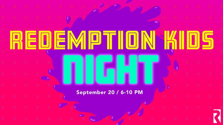 Redemption Kids Night logo image