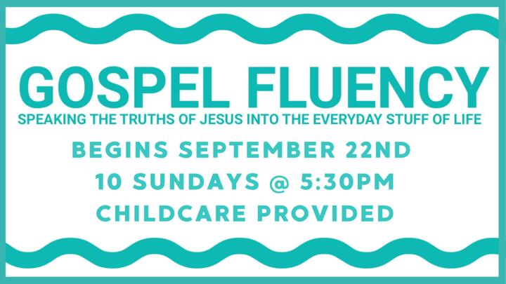 Gospel Fluency Evening Study logo image