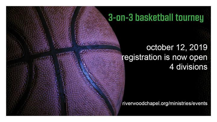 3 on 3 Basketball Tournament logo image