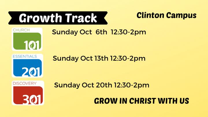 Growth Track Clinton Campus logo image