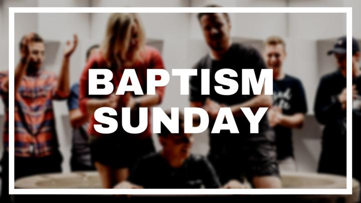 Baptism Sunday | Participant Registration  logo image