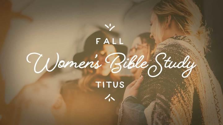 Women's Bible Study - Thursdays at 9:00am logo image