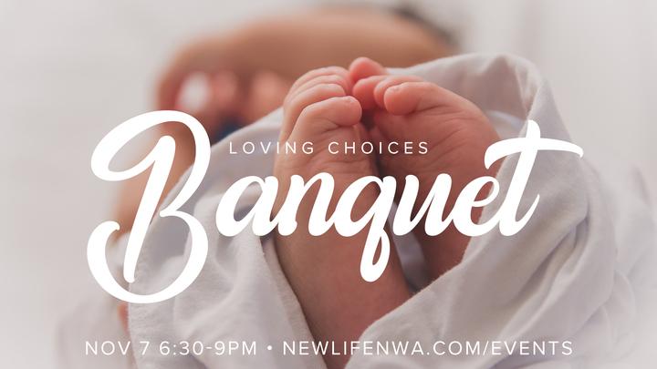Loving Choices Banquet logo image
