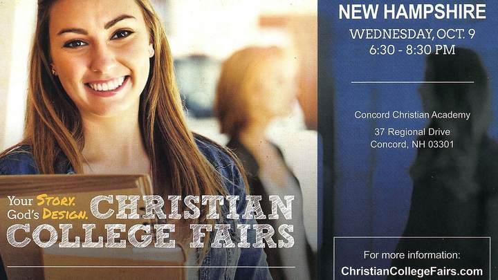 COMMUNITY CALENDAR—Christian College Fair logo image