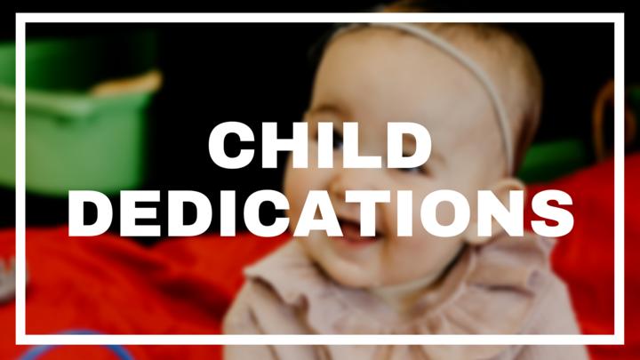 Child Dedications | Child Registration logo image
