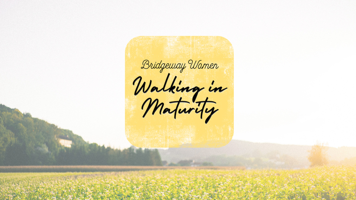 Walking in Maturity logo image