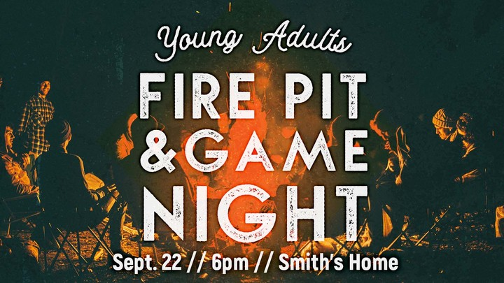 Young Adults Fire Pit & Game Night logo image