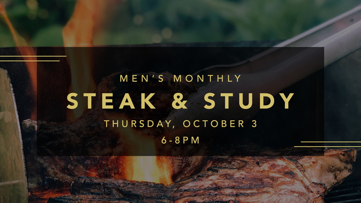 Men's Steak & Study logo image