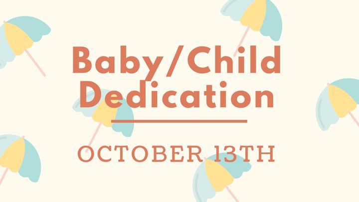 Baby/Child Dedication logo image