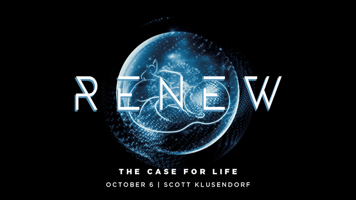 Renew: The Case for Life logo image