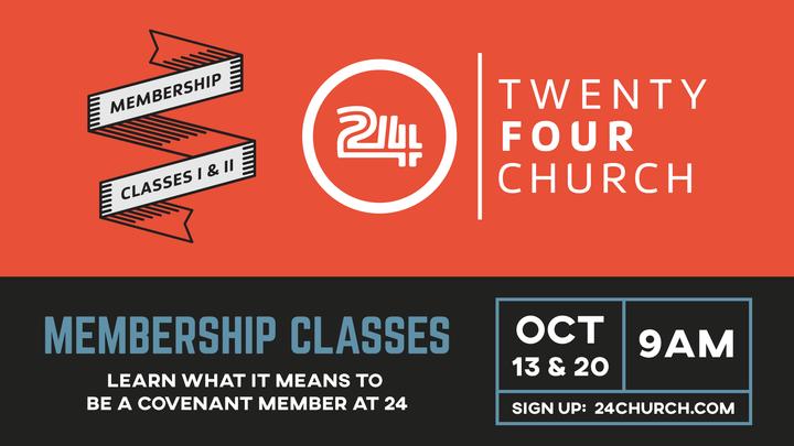 Membership Classes 1 & 2 logo image