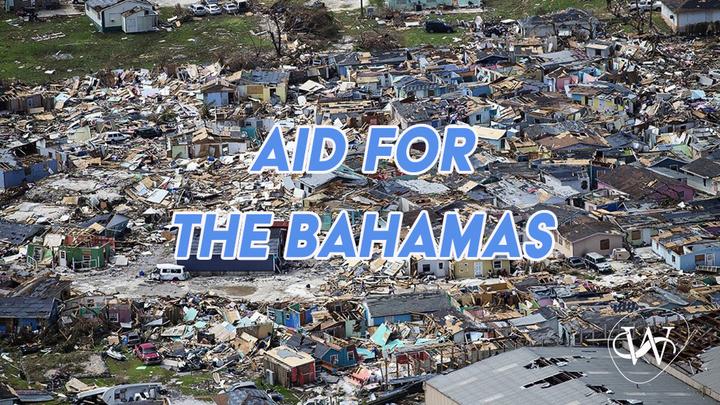 Aid for the Bahamas logo image