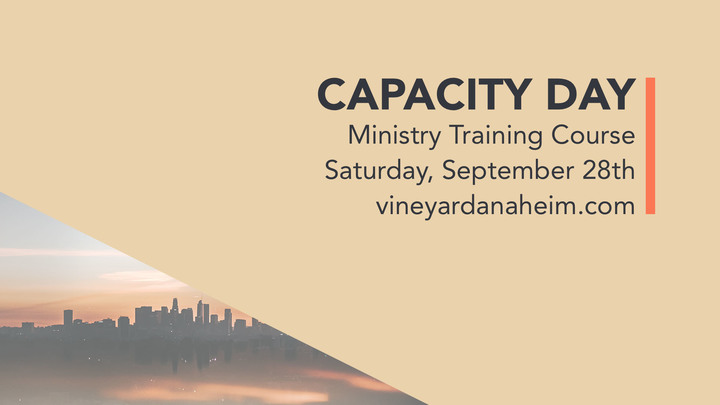Capacity Day Fall 2019 logo image