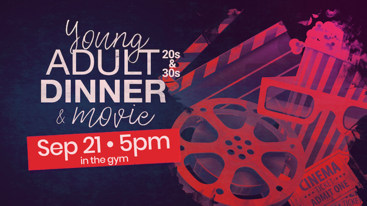 Young Adult Dinner & Movie logo image