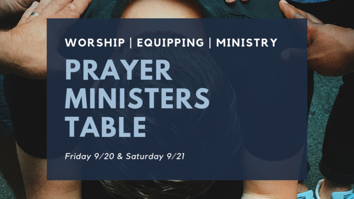 Prayer Minister's Table logo image